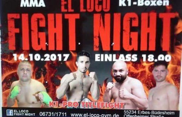 MarocZone präsentiert: El Loco Fight Night II – Mit dabei Profiboxer Azeddine Tamsamani aus Marokko