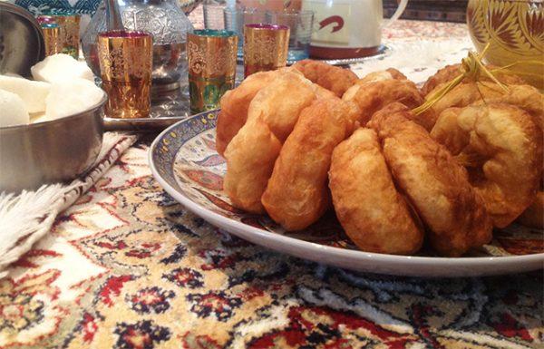 Essen für fünf Dirham (50 Cent) in Marokko. Teil 1